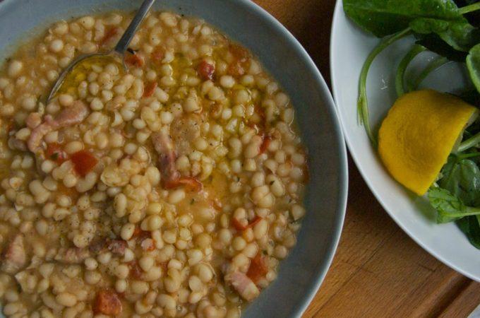 haricotbeanswithpancetta