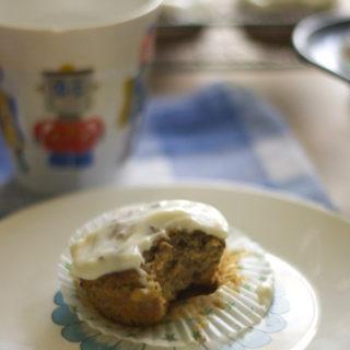 carrot-and-banana-muffins